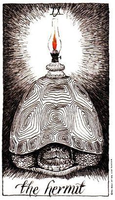 The Hermit — an INFJ archetype  http://en.wikipedia.org/wiki/The_Hermit