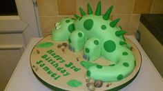 dinosuar birthday cakes for boys | Dinosaur Cake | Flickr - Photo Sharing!