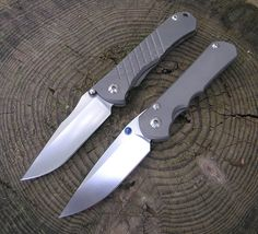 Chris Reeve Knives - The ultimate in craftmanship. These are seriously the best folding knives, superior in every way. These two are the Umnumzaan and the Sebenza 25.