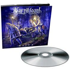 """L'album dei #Korpiklaani intitolato """"Noita"""" in formato digipak in edizione limitata con bonus track """"Antaja""""."""