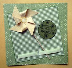 Urodzinowa kartka z wiatraczkiem ;)  Kliknij w zdjęcie, aby zobaczyć więcej!