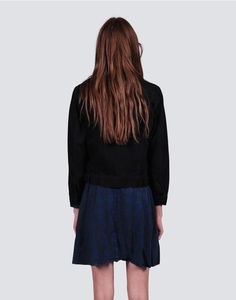 Throw On Denim Jacket Skater Skirt, Denim, Skirts, Jackets, Collection, Fashion, Down Jackets, Moda, La Mode