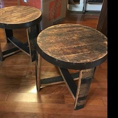 David added a photo of their purchase Bourbon Barrel Furniture, Whiskey Brands, Barrel Chair, Patio Chairs, Whiskey Barrels, Woodworking, David, Outdoor Furniture, Cabin Fever