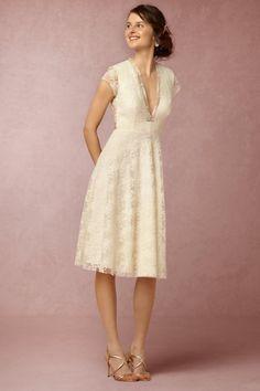 Cream Aaliyah Dress | BHLDN