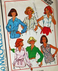 Vintage 1970s Sewing Pattern McCall's 5597 Set by Old2NewMemories, $5.75