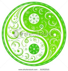 Floral Yin Yang