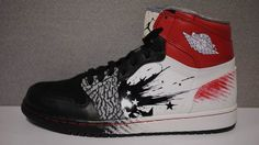 buy online 12480 78e2a Dave White Customs..would pay crazy amounts of money for these! Dave White  · Dave WhiteJordan 1Nike ...