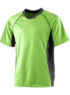39811dd6cf6 MEN S WICKING SOCCER SHIRT  AugustaActive Tee Shirts