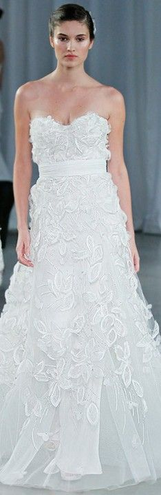 Monique Lhuillier Bridal Wear ♥✤ | Keep the Glamour | BeStayBeautiful