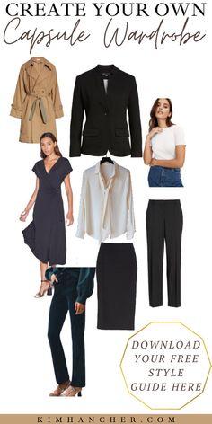 Build Wardrobe, Wardrobe Capsule, Capsule Outfits, Wardrobe Staples, Snappy Casual, Smart Casual, Net Fashion, Daily Fashion, Fashion Ideas