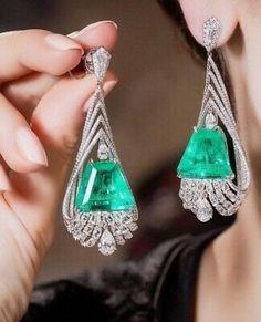 Vir Jewels cttw Certified Diamond Stud Earrings White Gold with Screw Backs – Fine Jewelry & Collectibles Emerald Earrings, Emerald Jewelry, Ear Jewelry, High Jewelry, Luxury Jewelry, Jewelry Stores, Jewelry Art, Antique Jewelry, Jewelry Design