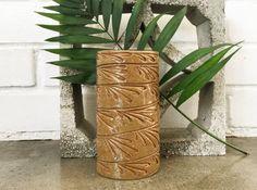 Vintage Studio Pottery Stoneware Tall Vase