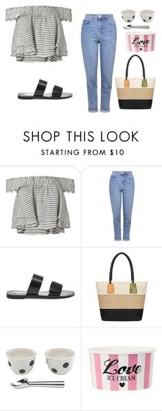 """Untitled #406"" by ema-jones ❤ liked on Polyvore featuring Apiece Apart, Topshop, Steve Madden and Kate Spade"