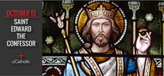 St. Edward the Confessor was the son of King Ethelred III and his Norman wife, Emma, daughter of Duke Richard I of Normandy. He was born at Islip, England, and sent to Normandy with his mother in the year 1013 when the Danes under Sweyn and his son Canute invaded England. Canute remained in ...