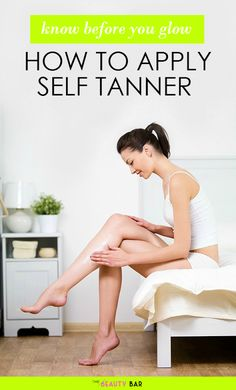 How to Apply Self Tanner the Right Way- the ultimate step-by-step guide to applying self tanner. Thanks to this article, I no longer need to worry about streaky or orange tans! GOOD PIN!