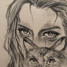 Art Drawings Sketches Simple, Pencil Art Drawings, Indie Drawings, Arte Sketchbook, Funky Art, Hippie Art, Pretty Art, Aesthetic Art, Cartoon Art