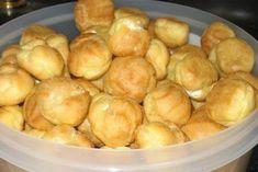 Profiteroles - choux pastry - Simple recipes of Овкусе. Profiteroles, Eclairs, Cake Recipes, Snack Recipes, Dessert Recipes, Cooking Recipes, Cooking Ham, Pastry Cook, Choux Pastry