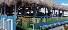 One of the great bars here in Fort Pierce Florida! Awesome drinks in a bucket!!!!