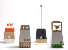 Craft System, a collection of Robot like lamps