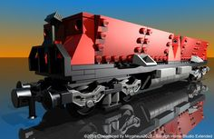 Lego 7898: Cargo Train Deluxe - Customized by Davide Solurghi (Morpheus)