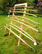 Longbow stand...