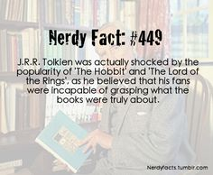 """Kind of insulting.....  """"incapable of grasping what the books were truly about"""" but yes, we love them."""