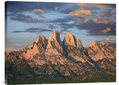Organ Mountains near Las Cruces, New Mexico