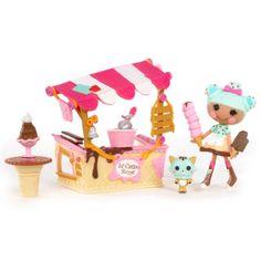 Mini Lalaloopsy Playset - Scoops Serves Ice Cream $5.99 #topseller