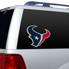 Houston Texans Large Window Decal