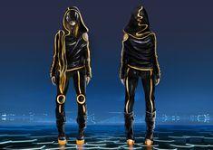ArtStation - Character design: inspiring Tron Legacy , Alessia Liberty