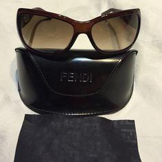 Fendi Sunglasses gently used Gently used Fendi Sunglasses .....Need to make room for more sunglasses. FENDI Accessories Sunglasses