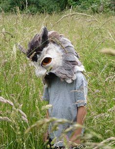 Gladys Paulus Felt Mask