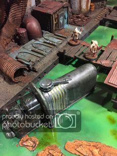 jpg photo by Game Terrain, 40k Terrain, Wargaming Terrain, Minis, Fallout 4 Settlement Ideas, Necromunda Gangs, Miniature Bases, Warhammer Terrain, Diy Table Top
