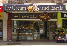 Wellington Cakes Bakery Signs on Bondi Road | Danthonia Designs