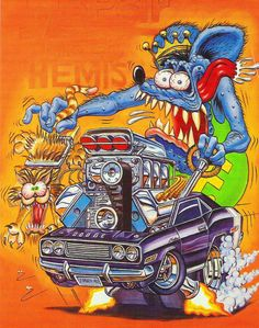 Rat Fink Chopper - Harley-Davidson Dedication to Ed Roth - Kustoms Us