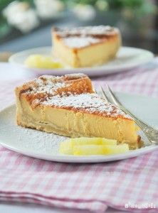 Tarta de mascarpone al limón