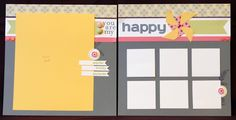 Chantilly Layout #Double Page Scrapbook Layouts 8x10 idea