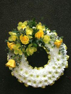 Casket Flowers, Grave Flowers, Cemetery Flowers, Funeral Flowers, Funeral Floral Arrangements, Flower Arrangements, Happy Birthday Flower Cake, Funeral Sprays, Corona Floral