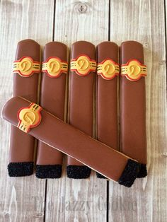 Cigar Cookies Father S Day Cookies Birthday Cookies