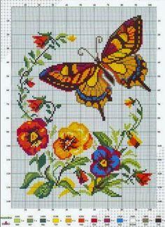 Cross Stitch Craze: Butterfly - Free Cross Stitch Pattern