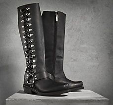 Romy Performance Boots.Order Online and Have it Shipped FREEEE to Brunswick Harley Davidson, Troy, NY!