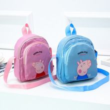 Peppa Pig Package Pink Backpack Cartoon Decoration Wallet Kawaii George Blue Pink Girl Fashion Anime Action Figures Best Gift Peppa Pig Outfit, Batam, Mini Backpack, Pink Girl, Fashion Backpack, Action Figures, Kawaii, Best Gifts, Cartoons