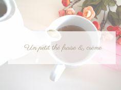 Moment de douceur avec un thé fraise