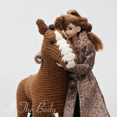 Horse whisperer (The pattern is already available on #Etsy, #Ravelry and…