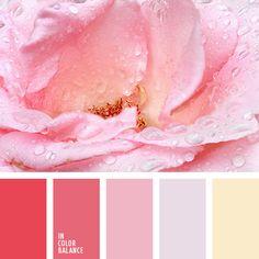 Приятная цветовая комбинация, умеренно яркая ивыразительная. Мягкие краски создают такую плавнуюгармонию, в которой хорошо и уютно. Более насыщенныетона коричневого и красно-розового добавляютконтрастности. Гамма подойдет для создания весенне-летнего гардероба.