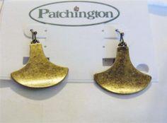 Beautiful brass dangle earrings- hook style DA10