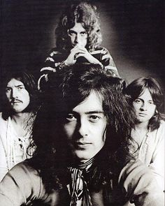 Led Zepplin, John Bonham, Robert Plant, Jimmy Page e John Paul Jones Official