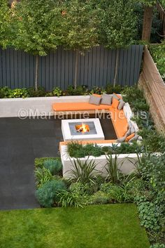 Chill out garden | Charlotte Rowe Garden Design