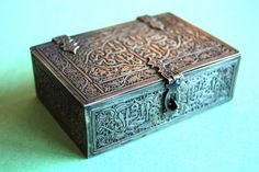 Canisters, Antique Silver, Persian, Ottoman, Decorative Boxes, Antiques, Ebay, Art, Antiquities