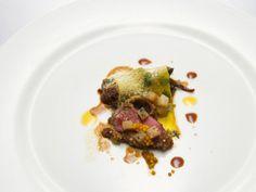 Richard Blais' Roasted Lamb Loin & Malted Braised Leg with Pickled Turnip & Mustard